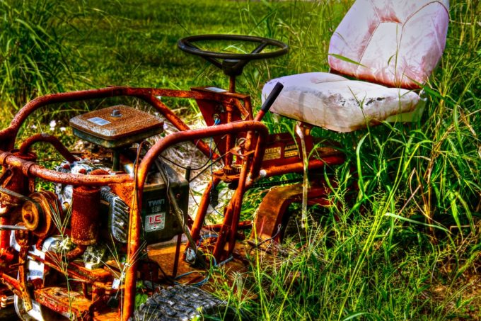 No Mow - Rusted Lawn Mower