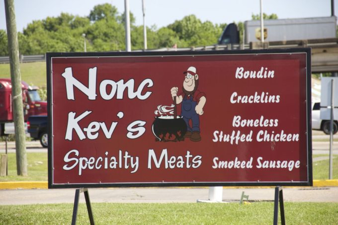 Nonc Kev's is the home of deer sausage and other Cajun meats.