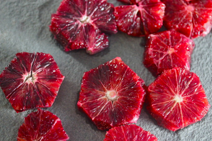 Blood Oranges - a Cajun recipe from Lafayette, Louisiana