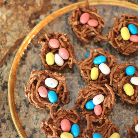 Chocolate Nests — Easy for Easter