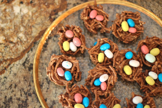 Chocolate Nests Recipe - Lafayette, Louisiana