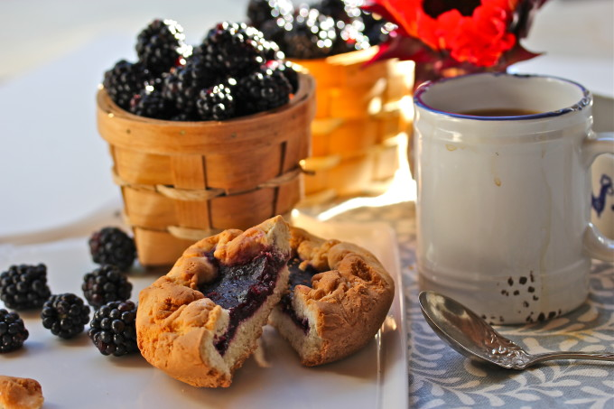 Blackberry Sweet Dough Pie--a culturally significant Cajun recipe and Cajun cooking at its best.