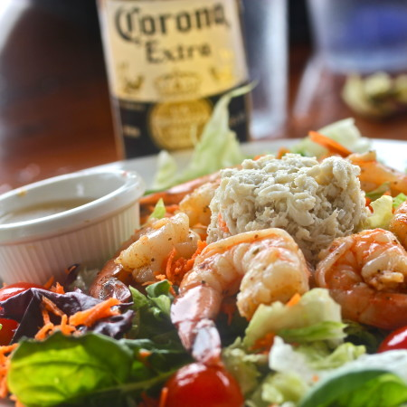 Louisiana Seafood Salad with Creole Citrus Vinaigrette