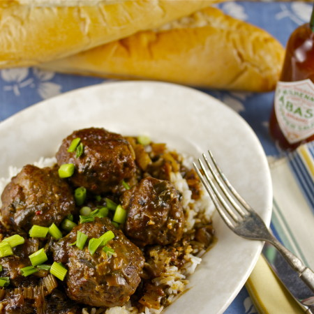 Meatball Fricassée – A Classic Roux-Based Recipe