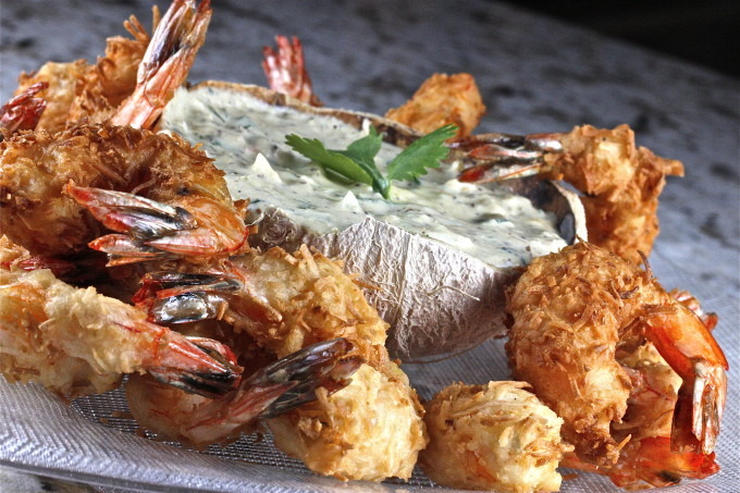 Coconut Shrimp recipe becomes a Cajun recipe classic.