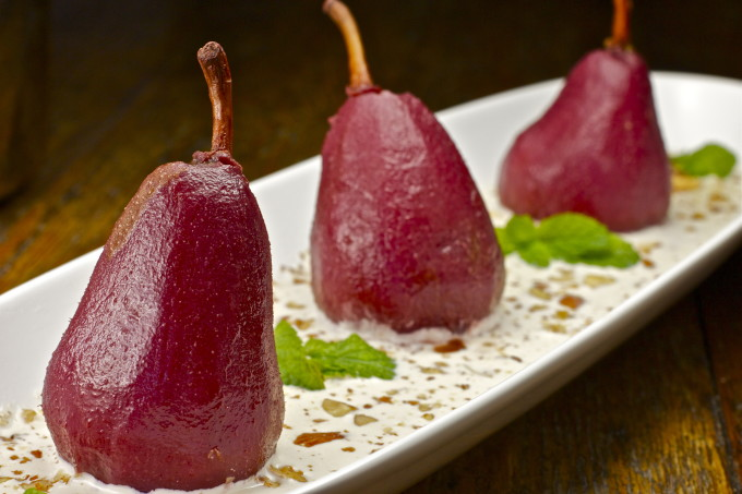 Poached pears are one of my favorite Cajun recipes.