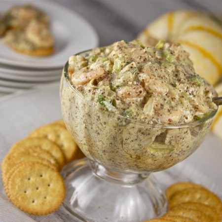 Spicy Creole Shrimp Dip