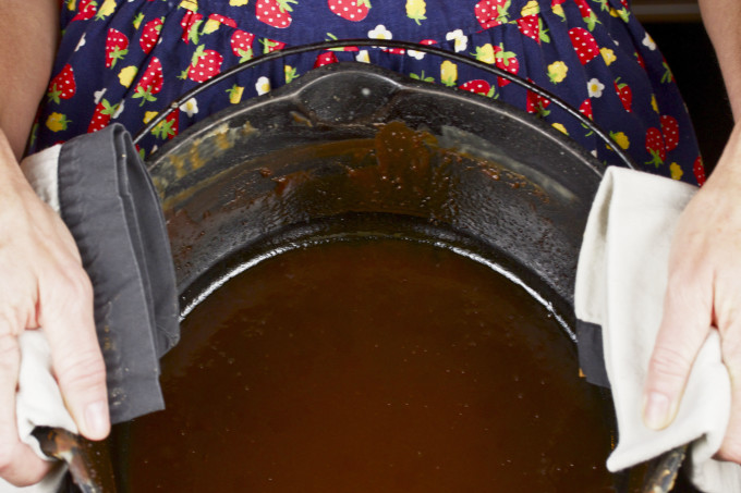 Dark Roux is the basic start of many Cajun recipes and the foundation of Cajun cooking.