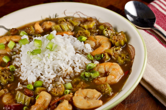 Shrimp and Okra Gumbo blends the best of Cajun and Creole in one ...