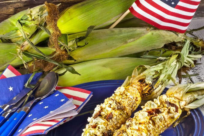 Corn on the Cob -- a Cajun recipe.