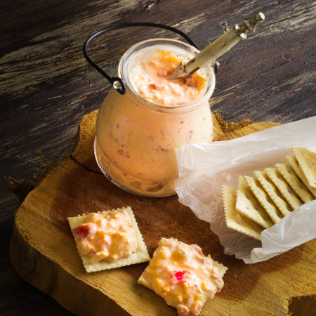 Fire-Roasted Red Pepper Pimento Cheese
