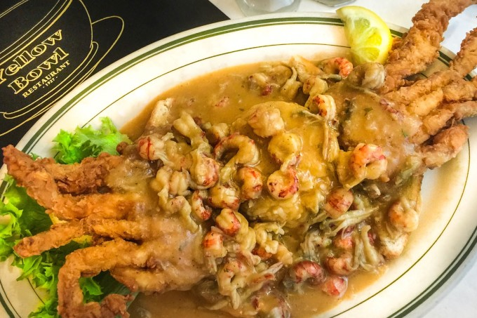 Softshell Crab is a tasty Cajun recipe classic.