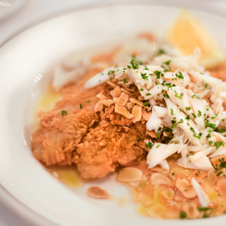 Black Drum in lemon butter with Gulf crab: This Louisiana seafood recipe is sure to become one of the classic Cajun recipes in Cajun cooking.
