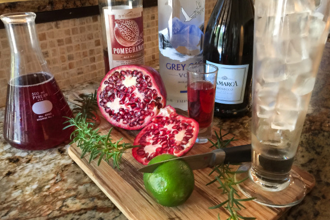 Pomegranate Spritzer Ingredients