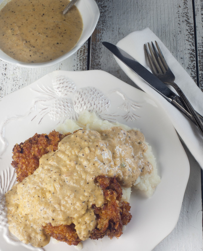 Cajun comfort food in a rich Cajun-Fried Steak recipe.
