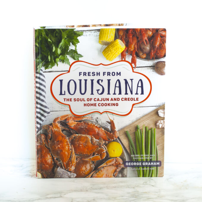 With over 100 recipes and full-color photos, this cookbook focuses on the seasons of Louisiana. (Photo credit: George Graham)