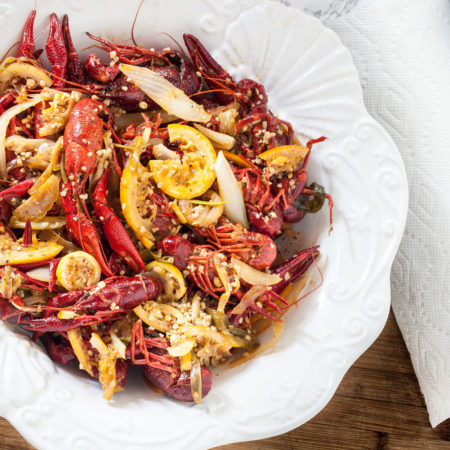 Two-Step Boiled Louisiana Crawfish