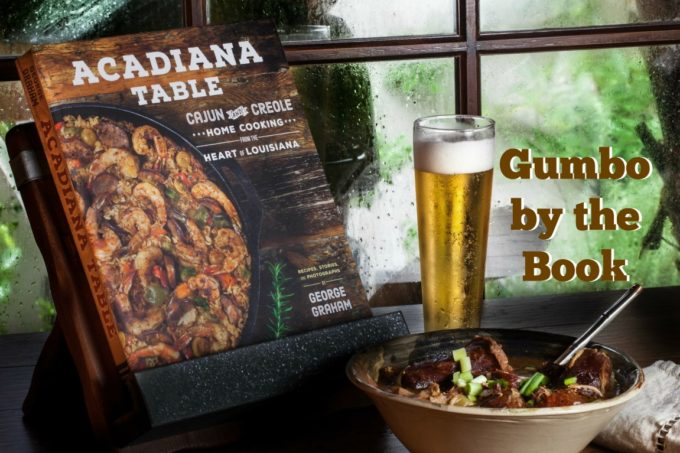 Cookbook with Gumbo in Window 4lores