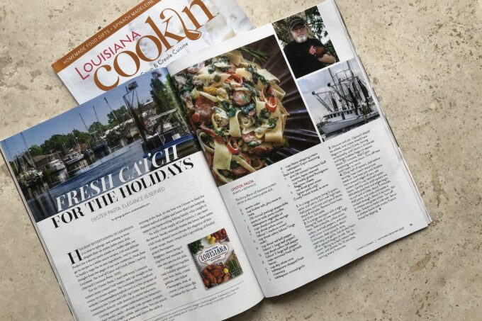 The Fresh From Louisiana cookbook is featured in the current holiday issue of Louisiana Cookin' magazine.