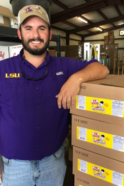 Ross Lafleur and his family make Pig Stand barbecue sauce--an Acadiana favorite.