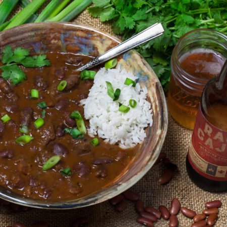 Ragin' Cajun Red Bean Chili