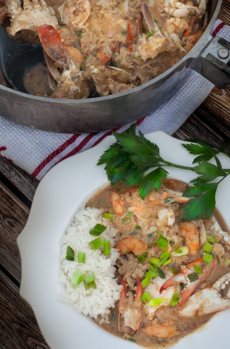 Crab Étouffée: A time-honored recipe handed down to the next generation of great Cajun cooks.