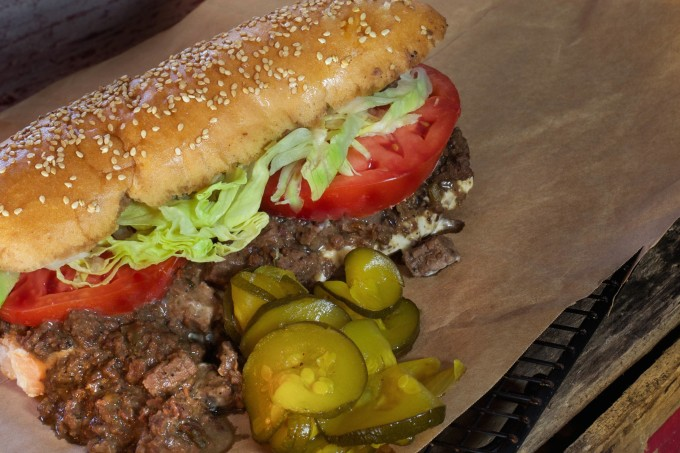 My Roast Beef Po-boy is a tasty Cajun recipe.