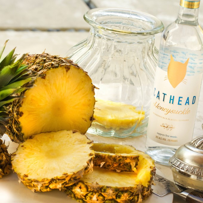 Pineapple Martini Is A Creative Craft Cocktail And An Easy