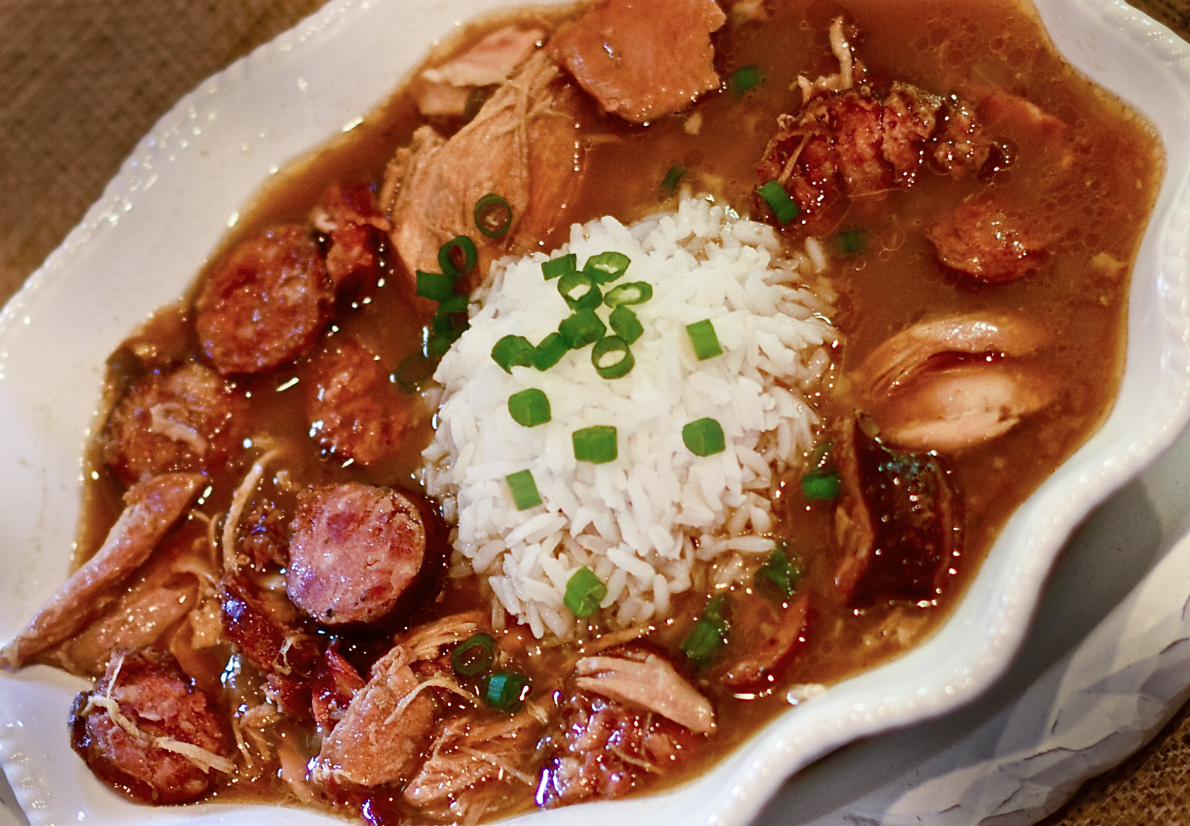Good Food Recipe For Louisianna Gumbo