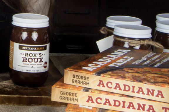 The Acadiana Table cookbook and Rox's Roux: two things you need to cook authentic Cajun food.