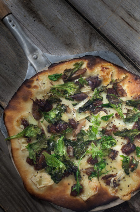 Duck And Brie Pizza Focuses On Fresh Ingredients And A