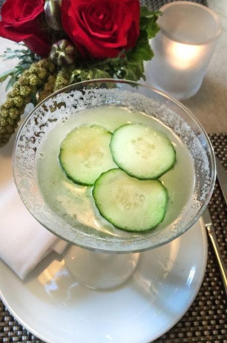 Cucumber Martini Fig and Olive