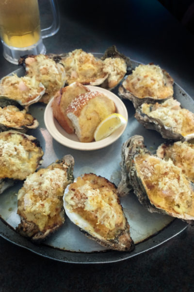 Bubbling hot off the grill, this Cajun recipe for Oysters Supreme is superb.