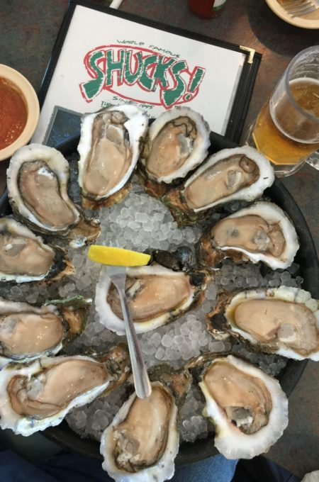 Order up--a dozen raw and then move on to the Oysters Supreme classic.