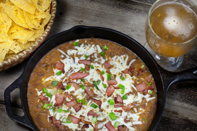 The perfect party dip with this Cajun recipe. (All photos credit: George Graham)