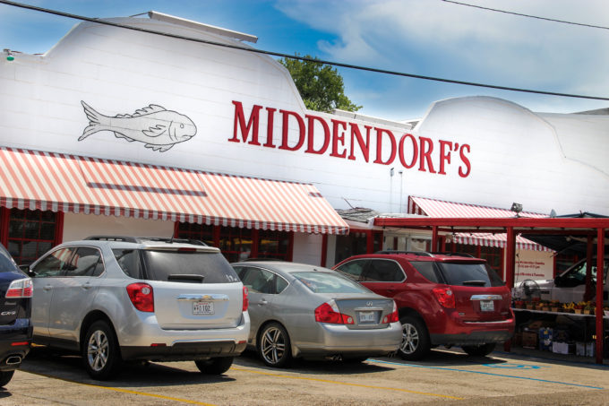 Middendorf S Restaurant In Manchac Louisiana