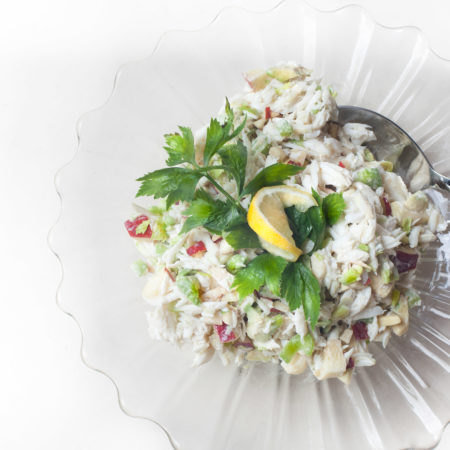 Delicate, delicious, and delightful: Crabmeat Salad