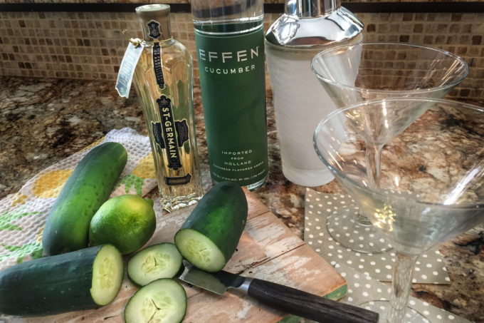 Just a few tasty ingredients go into this simple cocktail.