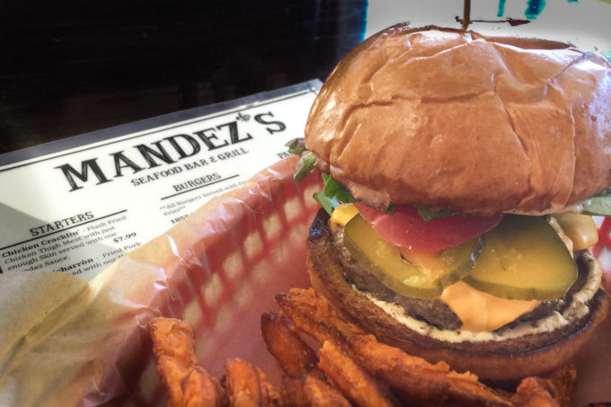 The 1855 Burger at Mandez's. This Cajun recipe is Cajun cooking at its best!
