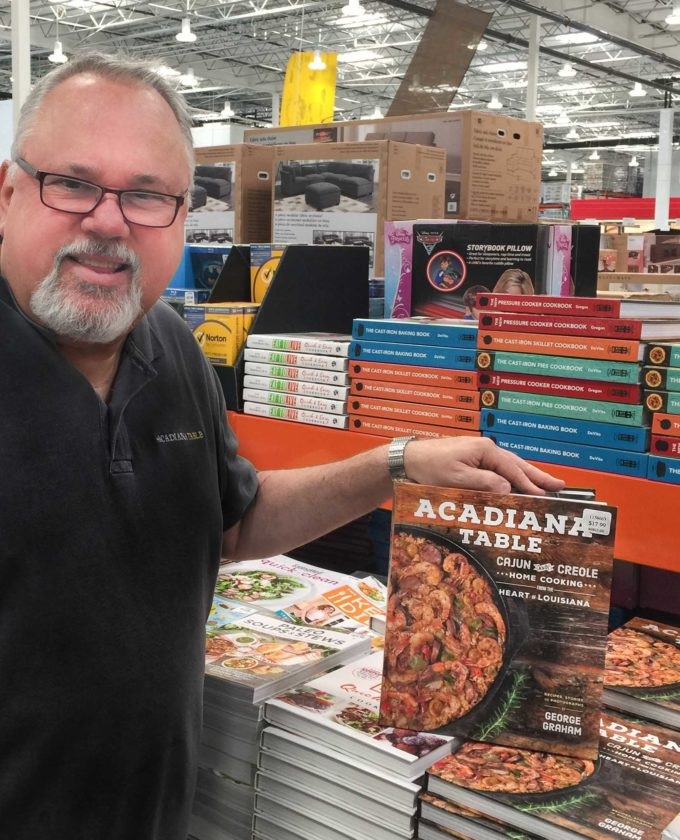 Costco now has the Acadiana Table cookbook in-store at all Louisiana stores: Lafayette, Baton Rouge, and New Orleans.