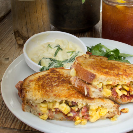 Kitchen Inspiration: Fresh Summer Corn Gets a Creative Sandwich Makeover