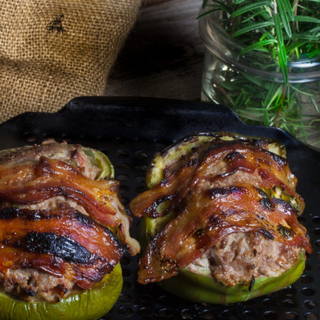 Bacon-wrapped bombs that explode with flavor