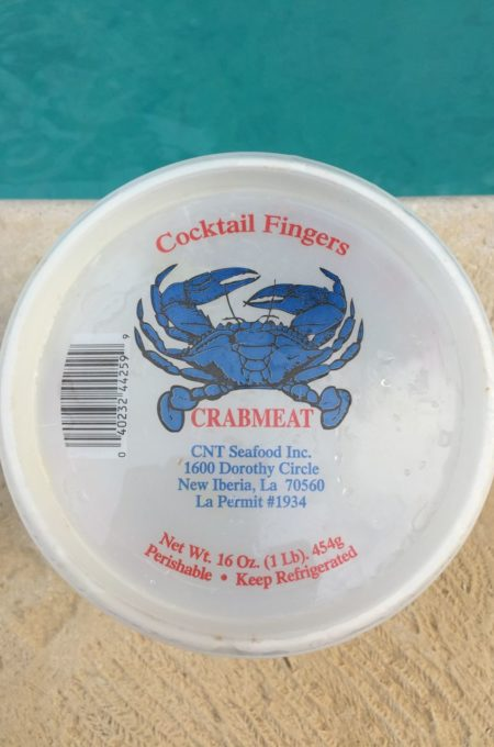 Louisiana crabmeat creates a Crab Claw Sensation.