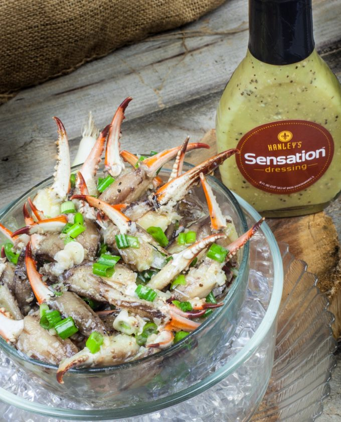 Zesty flavors combine in my easy recipe for Crab Claw Sensation.