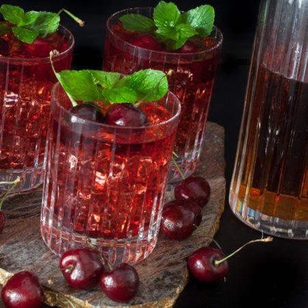 Shine on with this tasty Southern tradition--Cherry Bounce.