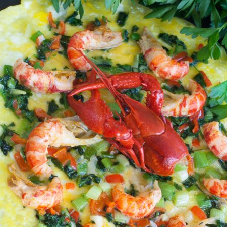 Crawfish Omelette