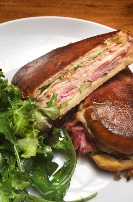 With Louisiana spice and flavor, give my Cajun Cuban Sandwich a try.