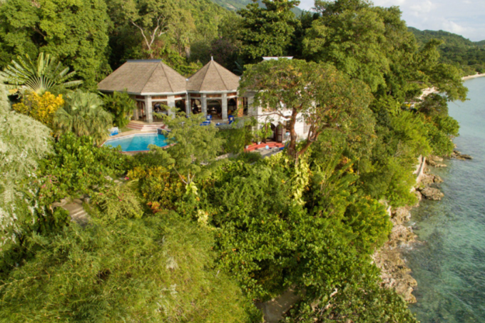 The Hermitage--our Jamaican hideaway. (Photo credit: Internet archive)