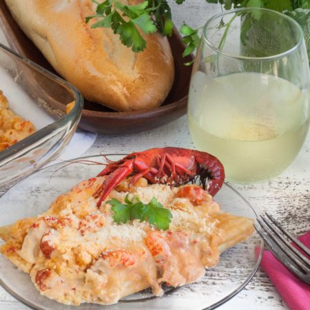 Crawfish Cannelloni