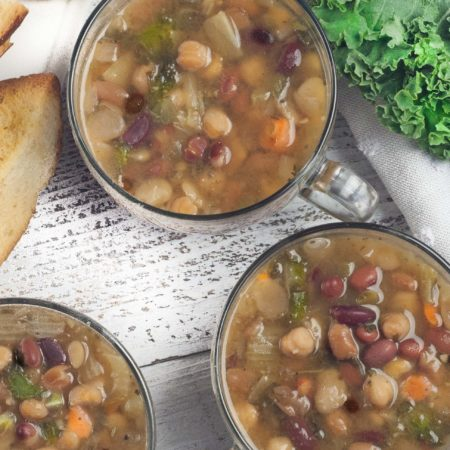5-Bean Kale Soup